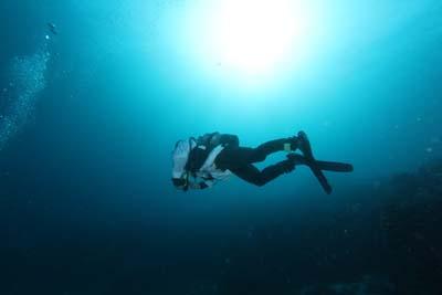 フィンキックで海をに濁しちゃう人の為の3STEP
