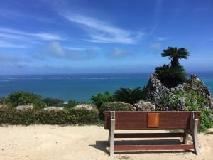 絶景のベンチ3