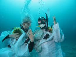 3月30日 水中結婚式に出席しませんか?