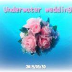水中結婚式